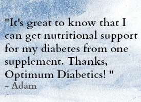 Optimum Diabetic Testimonial