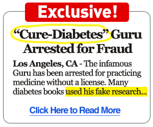 Diabetes Guru Arrested